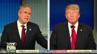 getlinkyoutube.com-Жесткие дебаты Трампа с Бушем на ТВ в США (с переводом)