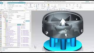 getlinkyoutube.com-NX CAM - What's New in NX11 CAM Part 1 - Ally PLM Lunch Bytes