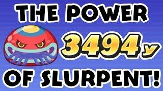 Yo-kai Watch Wibble Wobble - The Power of Slurpent + Score Attack Strategies!