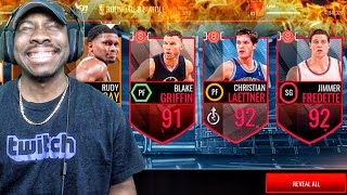 ELITE 8 PACK OPENING & 92 OVERALL LEGENDS OF MARCH! NBA Live Mobile 16 Gameplay Ep. 90