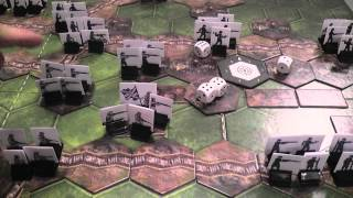 getlinkyoutube.com-The Great War (Richard Borg's Commands and Colors Game) Review