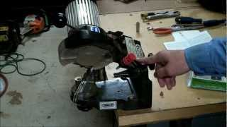 getlinkyoutube.com-HOW TO SHARPEN A CHAINSAW CHAIN / BLADE AND SET UP YOUR CHAIN GRINDER / SHARPENER 511A