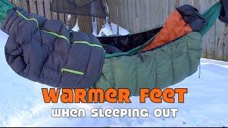 getlinkyoutube.com-Warm Feet when Camping Out in Winter