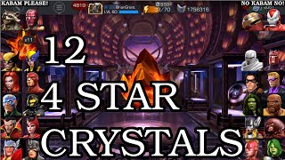 getlinkyoutube.com-A 'Strange' 12 FOUR STAR Crystal Opening | Marvel Contest of Champions