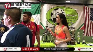 Atlante Subcampeones en la liga 5 de Mayo Soccer League