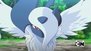 getlinkyoutube.com-Pokemon XY Special - Mega Absol vs. Mega Charizard X - Full Fight HD