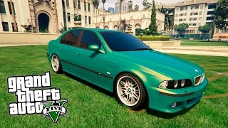 getlinkyoutube.com-GTA 5 Mods : BMW М5 Е39
