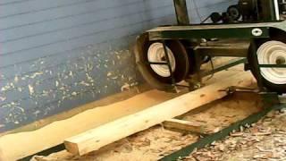 getlinkyoutube.com-Home made band sawmill