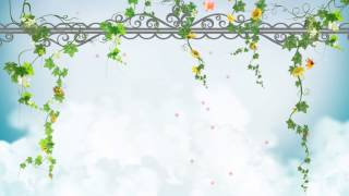 getlinkyoutube.com-FONDO VIDEO BACKGROUND FULL HD - ENREDADERA, FLORES Y NUBES