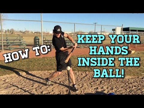 "How to: Keep Your ""Hands Inside the Ball!"" - Baseball Hitting Drills"