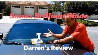 getlinkyoutube.com-Sonax Brilliant Shine Detailer: Darren's professional review