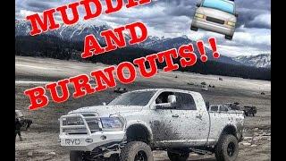 getlinkyoutube.com-TRUCKS MUDDING AND BURNOUTS!