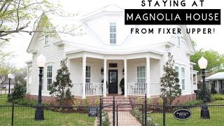 getlinkyoutube.com-Stay at the Magnolia House from FIXER UPPER!