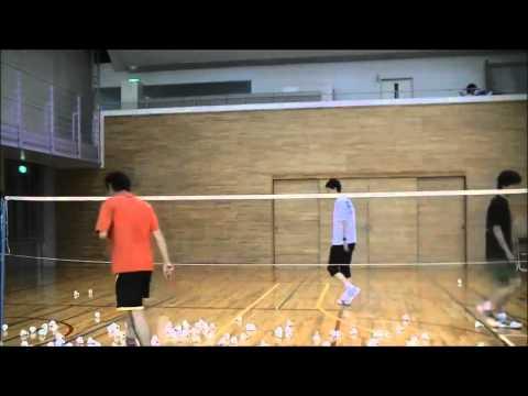 Trick shot badminton tutorial