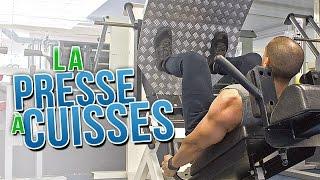 La PRESSE à CUISSES | MUSCULATION bas du corps width=