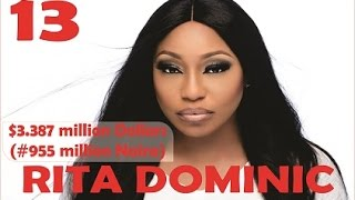 getlinkyoutube.com-Top 20 Richest Nollywood ARTISTs (actors & actresses) in 2016 with their net worth - Official Video