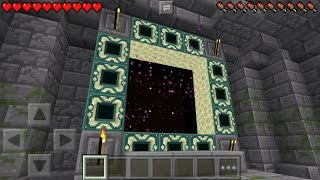 getlinkyoutube.com-✔ Working End Portal in MCPE! The End Stronghold Map [Minecraft PE 0.15.0 - 0.16.0]