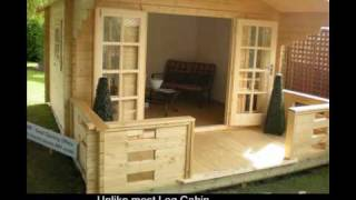 getlinkyoutube.com-How to build a Log Cabin or Summerhouse in your garden