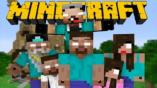 If Herobrine had a Family - Minecraft Part 1