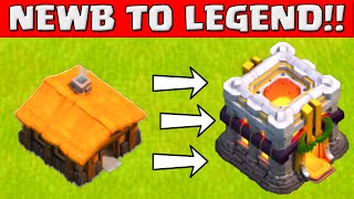 getlinkyoutube.com-Clash of Clans NEWB TO LEGEND! ★ Top 3 Tips For Beginners ★ Early Town hall Strategy Guide ★
