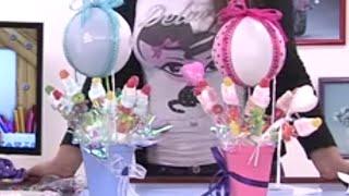 Globoflexia-Como hacer un Globo Dulcero para Baby Shower - Hogar Tv  por Juan Gonzalo Angel