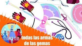 getlinkyoutube.com-Todas Las Armas De Las Gemas De Steven Universe