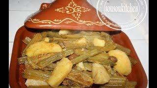 getlinkyoutube.com-Tajine de Viande et Cardons طجين الخرشوف /Meat and Cardoons Tagine