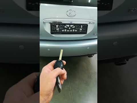 Лексус RX 350.Открытие багажника кнопкой!!!!!