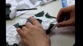 getlinkyoutube.com-10式戦車の迷彩塗装法 Camouflage paint of Type 10 MBT