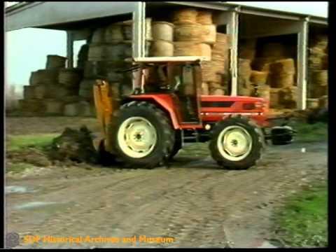 Trabajos en fincas y explotaciones ganaderas - Tractores de oruga (1987)