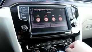 getlinkyoutube.com-der neue VW Passat 8 Infotainment System - Die Navigation (Discover Pro)