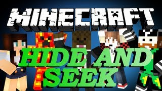 getlinkyoutube.com-Minecraft Hide And Seek Minigame w/ BajanCanadian, CaveManFilms, TBNRFrags and AshleyMariee
