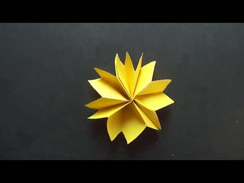 Download Thumbnail For How To Make Paper Flower Very Easy