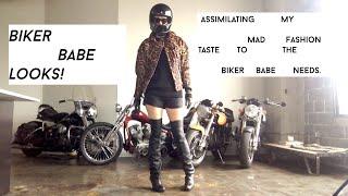 getlinkyoutube.com-Leopard Biker Jacket: Get Dressed With Me