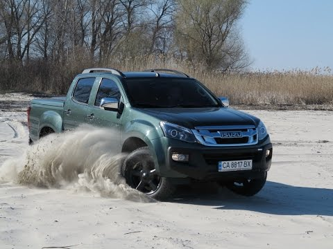 Тест-драйв Isuzu D-Max в Украине