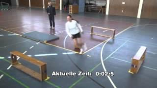 Koordination - Sporttest Polizei Baden-Württemberg