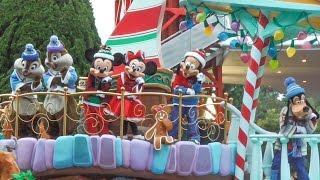 getlinkyoutube.com-ディズニー・クリスマス・ストーリーズ2016 ミッキーミニーフロート