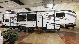 getlinkyoutube.com-XLR Thunderbolt 380AMP 5th Wheel Toy Hauler Review at Cheyenne Camping Center