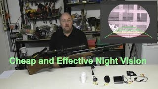 getlinkyoutube.com-Homemade Night Vision Rifle Scope - Inexpensive!