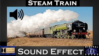 Steam Train Sound Effect  | Hi Qaulity Audio