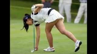 getlinkyoutube.com-美人すぎる女子ゴルファー 閲覧注意 Women golfers browse note that beauty too