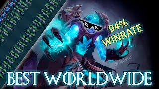getlinkyoutube.com-Best Arc Warden in the World — Top 1 Dotabuff with 94% win rate
