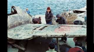 琵琶湖から引き上げられたゼロ戦画像・その2 永遠の0