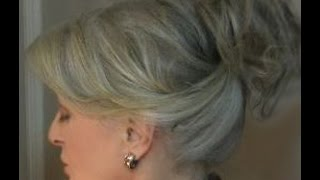 getlinkyoutube.com-Fast & Easy Updo