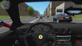 getlinkyoutube.com-City Car Driving - Ferrari 360 Modena | Street Racing