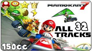 getlinkyoutube.com-Mario Kart 7 All Courses (Full Race Gameplay)