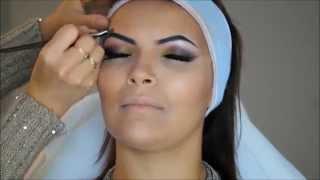 getlinkyoutube.com-Maquillage Libanais et Extreme Contouring