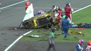getlinkyoutube.com-最新型フェラーリ458 大破の瞬間