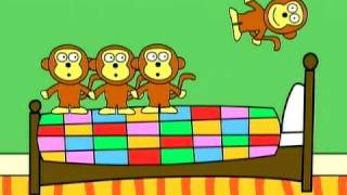 getlinkyoutube.com-Gracie Lou- Five Little Monkeys
