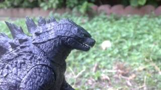getlinkyoutube.com-Godzilla 2014 Vs Zilla: Battle To The Death